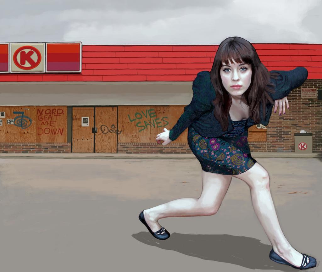Betsy McCall, in Post Katrina NOLA, Opts for Flats, 2007