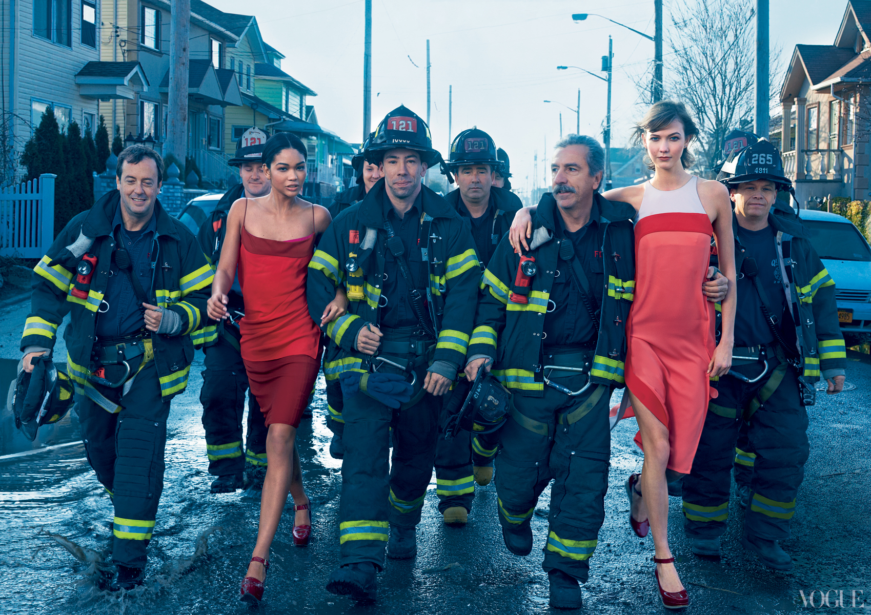 Annie Leibovitz, Hurricane Sandy photo shoot for Vogue, 2013